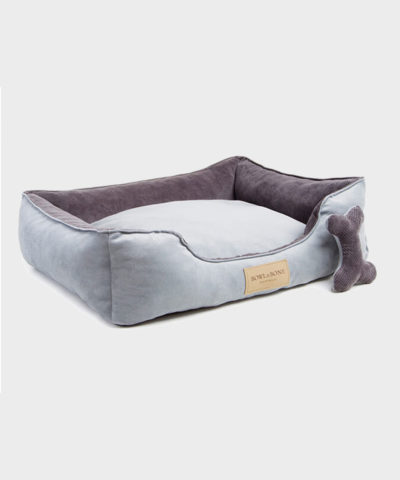 HUNDEBETT CLASSIC GRAU VON BOWL AND BONE REPUBLIC
