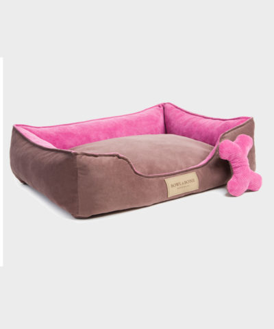 HUNDEBETT CLASSIC PINK VON BOWL AND BONE REPUBLIC