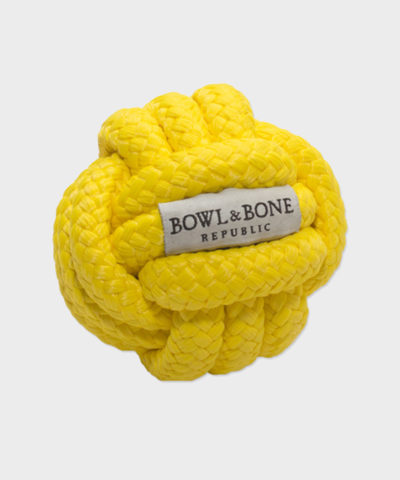 HUNDESPIELZEUG FIREBALL VON BOWL AND BONE REPUBLIC
