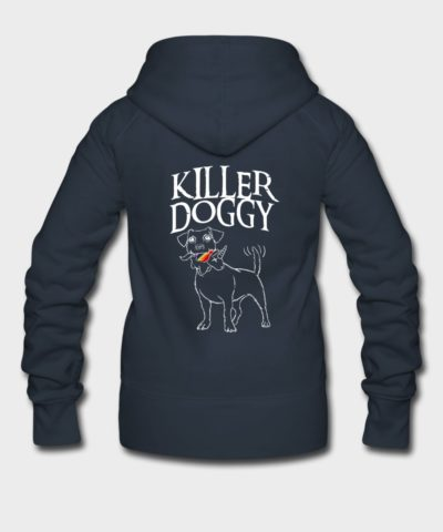 Killer Doggy Unicorn - Einhorn White | Frauen Premium Kapuzenjacke