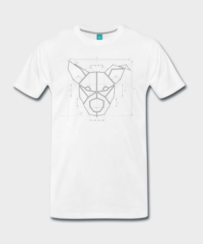 urban.dog Technical Head Einheiten | Männer Premium T-Shirt
