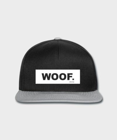 WOOF White Label | Snapback Cap
