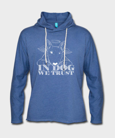 In Dog We Trust | Leichtes Kapuzensweatshirt Unisex