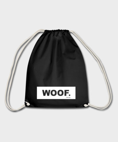 WOOF urban.dog White | Turnbeutel