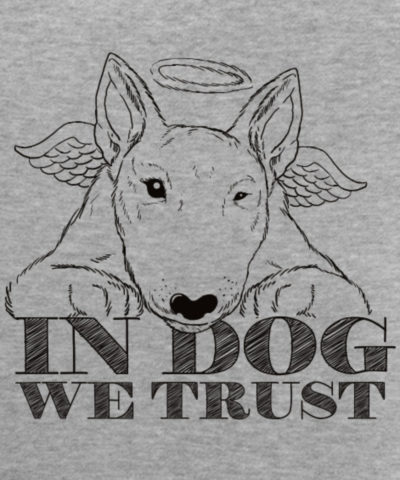 In Dog We Trust Black | Männer Premium Tank Top