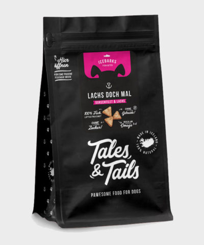 Tales & Tails | ICEBARKS – LACHS DOCH MAL!