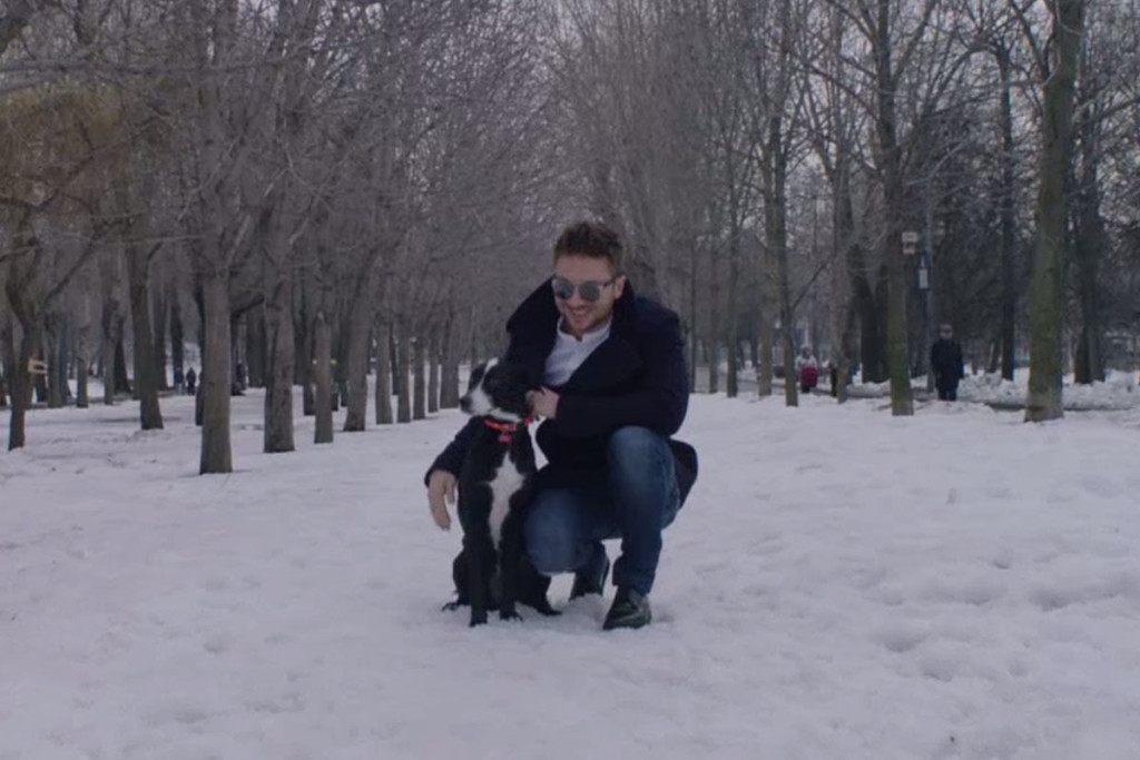 Russia's Sergey Lazarev mit seinem Song 'You Are the Only One'
